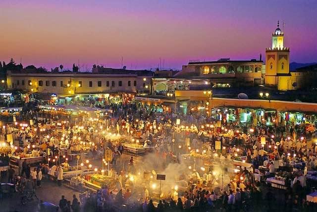 Jamaa El Fnaa, Marrakech