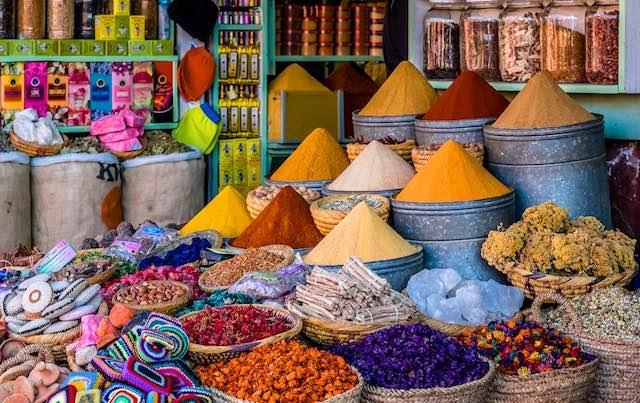 Spices shop, Marrakech