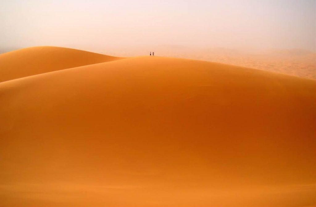 Merzouga Morocco large dune