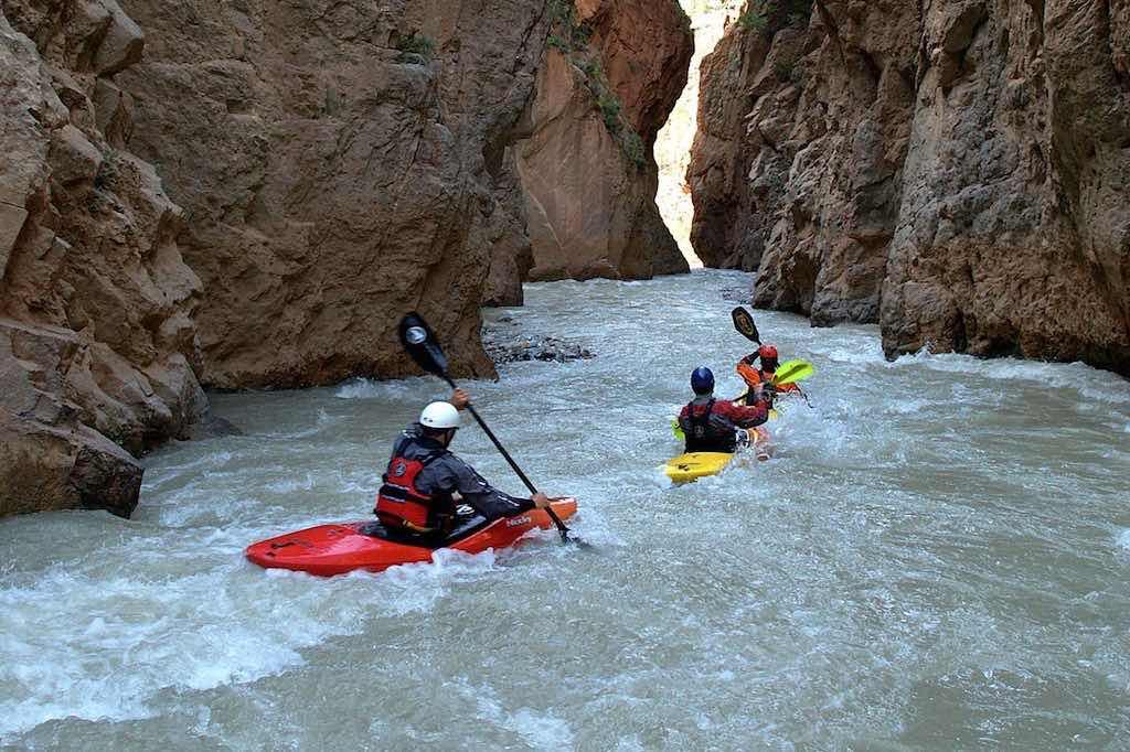 kayaking morocco