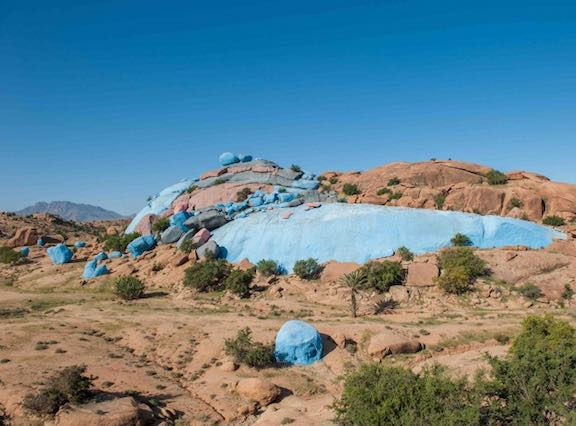 Painted Rocks Morocco