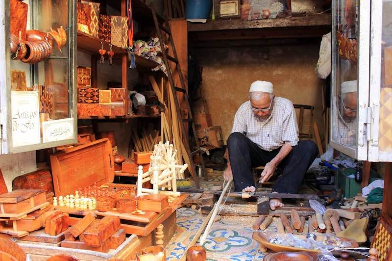A Glimpse Of The Splendid Moroccan Handicrafts