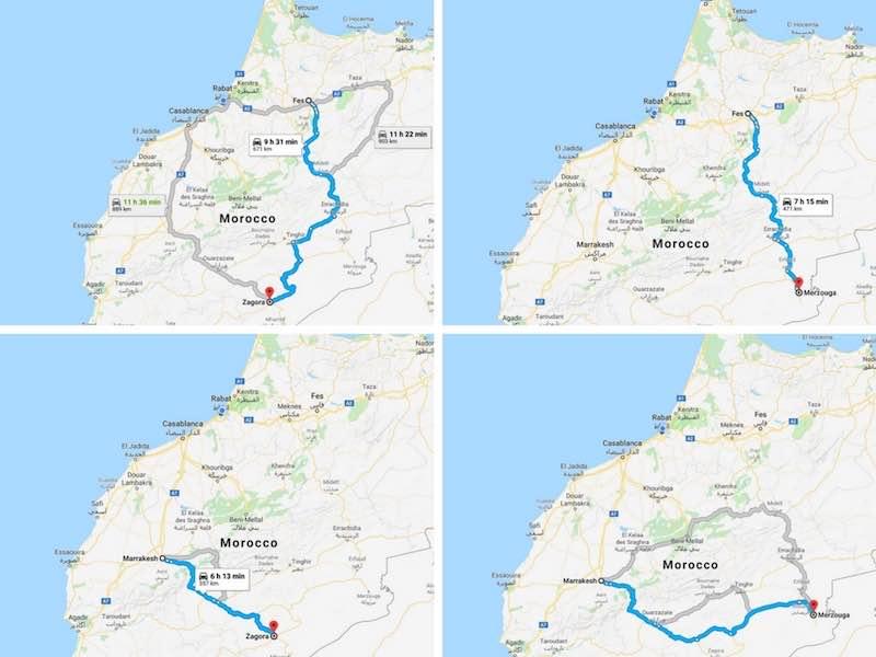 Desert distances