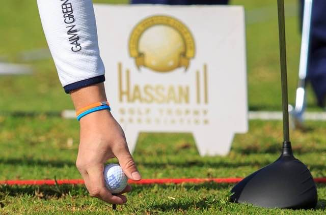 Hassan 2 golf trophy