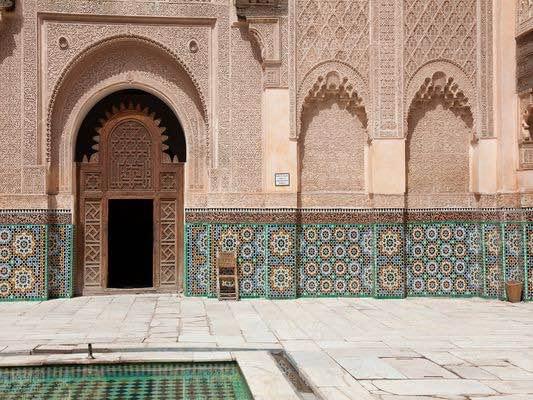 Madrasa Ben Youssef courtyard