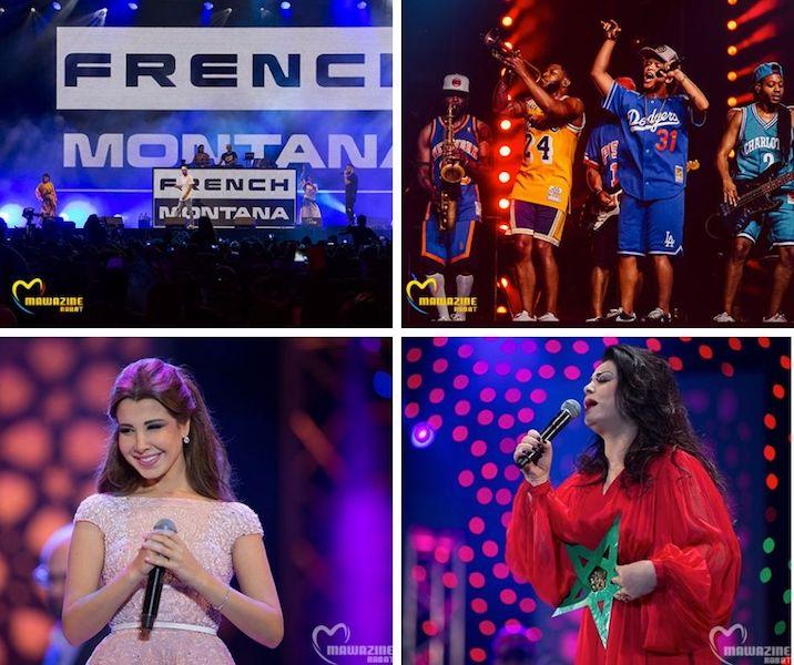Mawazine festival stars