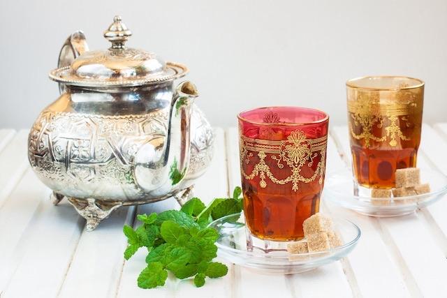 Moroccan-tea-set